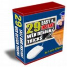 (V1) 29 Easy & Instant Web Design Tricks