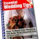 Essential Wedding Tips