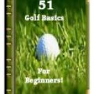 51 Golf Basics For The Beginner