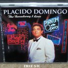 "Placido Domingo ""The Broadway I Love"" (CD, 1991, Atlantic) Pop"