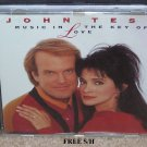 "John Tesh ""Music in the Key of Love"" (CD, 1992, GTS Records) Easy Listening"