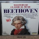 Beetthoven Masters of Classical Music (CD, 1990, Laserlight) Classical