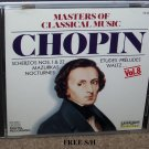 Chopin Masters of Classi018317701626cal Music (CD, 1990, Laserlight) Classical