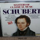 Schubert Masters of Classical Music (CD, 1990, Laserlight) Classical