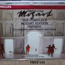Mozart The Complete Mozart Edition (CD, 1990, Philips) Classical
