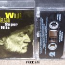 Willie Nelson Super Hits (Cassette, 1994, Columbia) Country