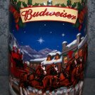 Budweiser 2003 Old Towne Holiday Beer Mug #CS560 By Ceramarte of Brazil