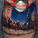 Budweiser 2001 Holiday At The Capitol, Beer Mug #CS455 By Ceramarte of Brazil