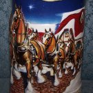 Budweiser 1998 Grant's Farm Holiday, Beer Mug #CS343 By Ceramarte of Brazil