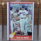 1991 Pacific Texas Express  #99 Nolan Ryan - Time for Relief In Plastic Card Holder