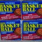 1991 FLEER Basket-Ball Player Photo Cards, 4 Packs of 14 Cards Per Pack_56 Cards Total
