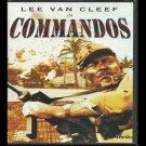 Commandos (DVD, NR, SlimCase, 1998)Lee Van Cleef,  Actionb/bAdventureLike New