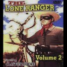 The Lone Ranger Volume2 (DVD, NR, BW, SlimCase ) Clayton Moore, Jay Silverheels, Western Brand New