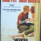 The Mexican (DVD R, 2001) Brad Pitt, Julia Roberts, Action-Packed Comedy Like New