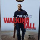 Walking Tall (DVD, PG-13, Widescreen, 2004) The Rock, Action Like New