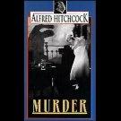 Murder! (VHS, B/W, NR 1930) Alfred Hichcock - Vintage Thriller