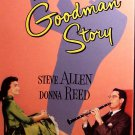 The Benny Goodman Story (VHS, NR 1955) Steve Allen, Donna Reed, Vintage Musical Like New