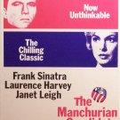 The Manchurian Candidate (VHS, PG-13, B & W, 1962) Frank Sinatra. Vintage Drama