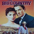 The Big Country (VHS, NR, 2-Tape Set, 1958) Gregory Peck, Vintage Weatern Like New