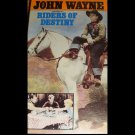 John Wayne, Riders Of Destiny,  (VHS, NR 1933) John Wayne, Vintage Western Like New