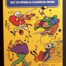Sports Bloopers Symfunny (VHS, NR, 1994) Set To Classical Music, Funny Like New