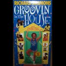 Grovin' In The House - Richard Simmons (VHS 1998) Ernest Schultz,  Exercise / Fitness Like New