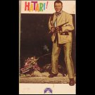 Hatari (VHS,  NR, 2 Tape-Set 1991) John Wayne,  Action / Adventure  Like New