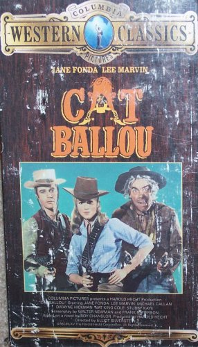 Cat Ballou (VHS, G, 1965) Lee Marvin, Jane Fonda  Western Special Offer