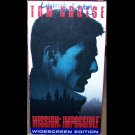 Mission Impossible (VHS, PG-13, Widescreen 1996 ) Tom Cruise,  Adventure	Special Offer