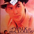 A Walk In The Clouds (VHS, PG-13, 1995 ) Keanu Reeves, Romance Special Offer