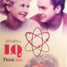 I.Q Think Love (VHS, PG ) Meg Ryan, Tim Robbins, Walter Matthau, Comedy Special Offer