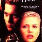The Astronaut's Wife (VHS, R, 2000) Charlize Theron, Johnny Depp, Sci-Fi Special Offer