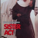 Sister Act  (VHS, PG 1992) Whoopi Goldberg, Comedy Like New