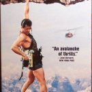 Cliffhanger (VHS, R  1993) Sylvester Stallone, Action / Adventure