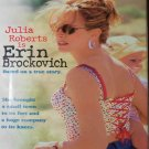 Erin Brockovich (VHS, R, 2000) Julia Roberts, Albert Finney, Drama Like New