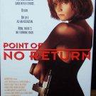 Point of No Return (VHS, R 1993) Bridget Fonda, Harvey Keite, Action, / Adventure  Like New