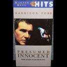 Presumed Innocent (VHS, R, 1991) Harrison Ford, Raul Julia, Drama Like New