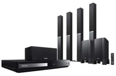Pioneer HTZ-777DVD Region Free Home Theater with HDMI and USB Port 110V and 220V For Worldwide Use