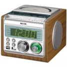 Sanyo RM-XCD900 Dual Alarm Clock Radio CD Player for 220 Volts (NOT FOR USA USE)
