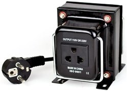 200 Watt Step Down Transformer from 220 Volt to 110 Volt