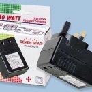 50W Travel Voltage Converter for UK Ireland SS215 50 Watt 220 to 110 Volt