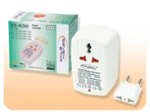 110V TO 220V 100 Watt Travel Step Up Down Power Converter Voltage Adapter