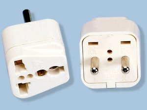 Asian European Style Plug Adapter Universal Output SS-411