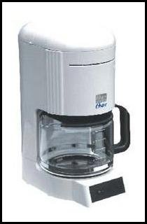 Oster 3297 10 Cup Coffee Maker with Permanent Filter 220 Volt 50hz Use Only - Will not work in USA