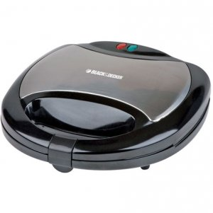 Black and Decker TS2080 2 Slot Sandwich Maker/Grill for 220 Volt (NOT FOR USE IN USA)