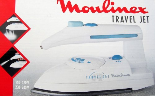 Travel Iron 220V Moulinex AW1 220 Volts-Will not work in USA