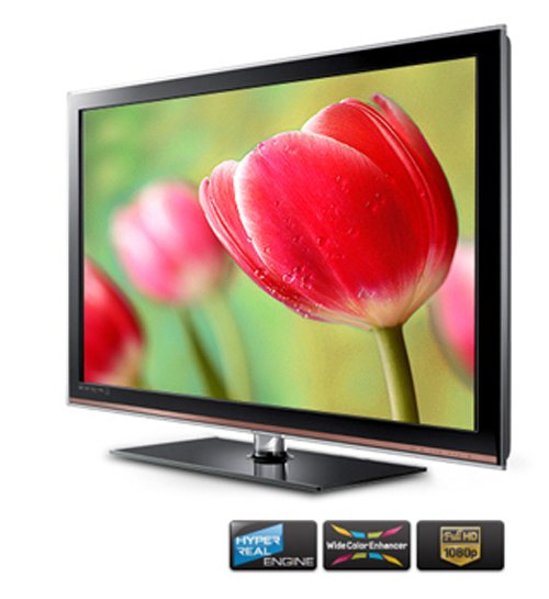 Samsung LA40D503 40-inch Full HD Multi-system LCD Television for Worldwide Use