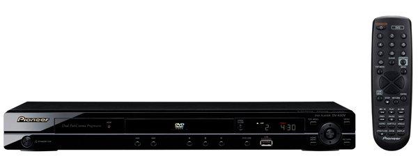 Pioneer DV-430V Region-Free PAL/NTSC Upconverting DVD Player