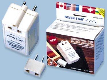 Seven Star SS-213 Dual Voltage Converter 60 Watt