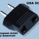 MF7 European Asian to American Plug Adapter EU To US